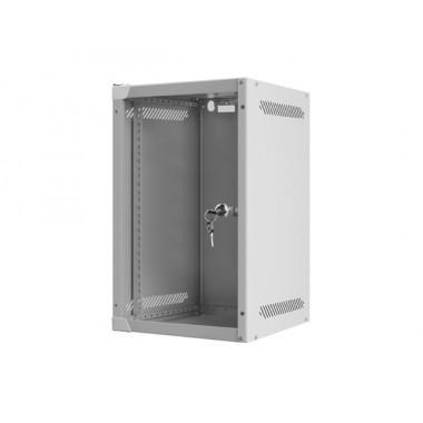 """Cabinet 10"""" 12U 280X310X603 WALL-MOUNT, GLASS DOOR"""