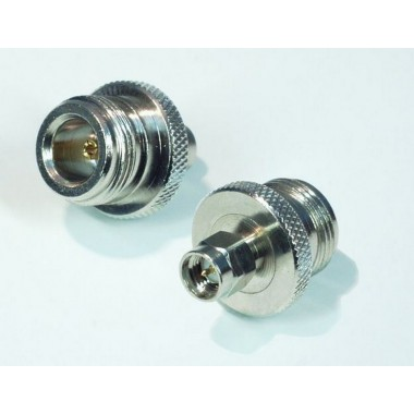 Adapter, SMA (Male) / N (Female)