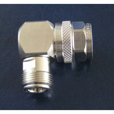 Adapter, N (Female) / N  (Male) right angle