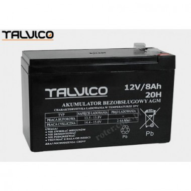 Battery Talvico AGM 12V, 8Ah