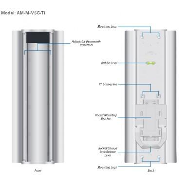 AirMAX Titanium Mid AM-M-V5G-Ti Ubiquiti