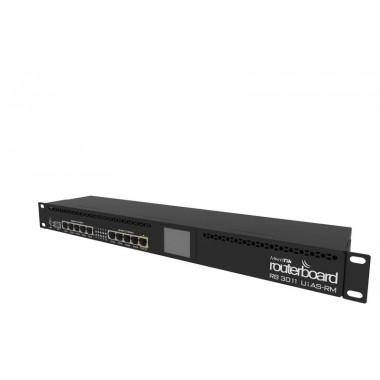 Ethernet Router RB3011UiAS-RM MikroTik
