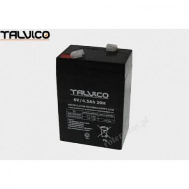 Battery Talvico AGM 6V, 4,5Ah