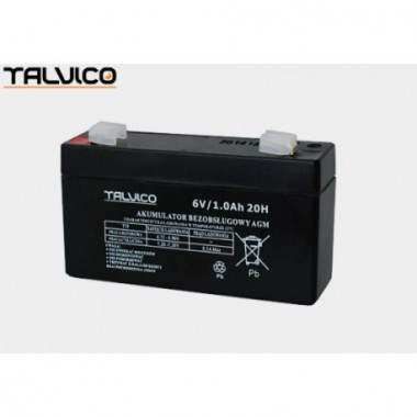 Battery Talvico AGM 6V, 1Ah