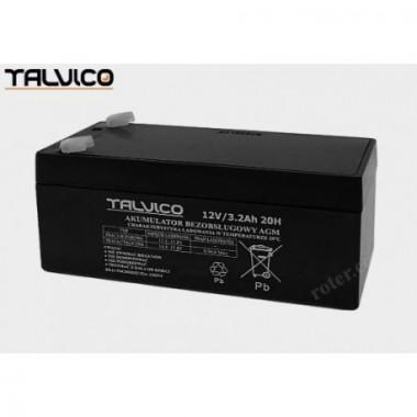 Battery Talvico AGM 12V, 3,2Ah