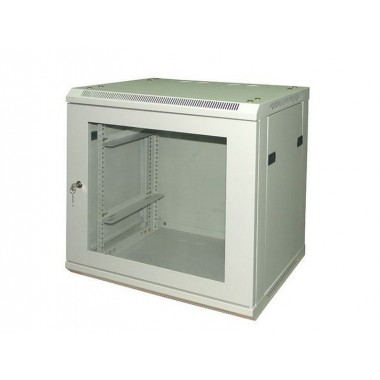 "CABINET 19"" 12U Glass Door"