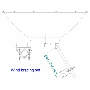 Antenna JRZ-1200 Fixed Kit Jirous