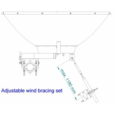 Antenna JRZ-1200 Adjustable Kit Jirous