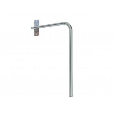 WALL MOUNT MAST RIGHT O25 / D:400 / H:600