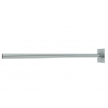 ROOF / WALL MOUNT MAST STRAIGHT O43 / D:1000