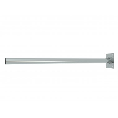 ROOF / WALL MOUNT MAST STRAIGHT O48 / D:1000