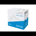 CABLE UTP CAT.5E SOLID PVC CCA BLUE 305M