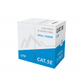 CABLE UTP CAT.5E SOLID PVC CCA GREY 305M