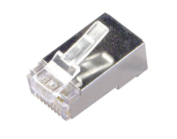 connector rj45 cat 6 ftp solid round utp stp telecom connectors connectors adaptors. Black Bedroom Furniture Sets. Home Design Ideas